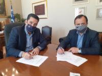 Υπογραφή προγραμματικής Σύμβασης μεταξύ Δήμου Αγρινίου και ΤΕΕ