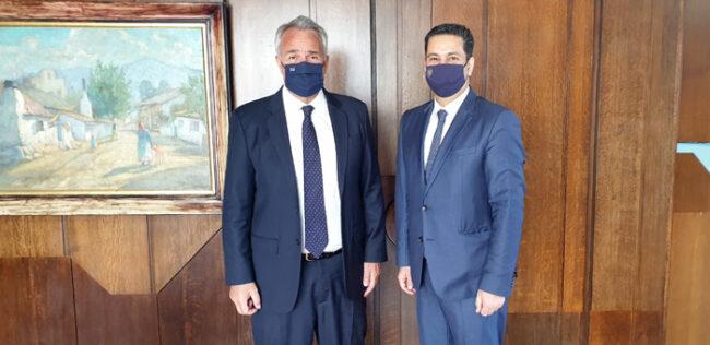 Συνάντηση Παπαναστασίου με Υπουργό Εσωτερικών Μ. Βορίδη
