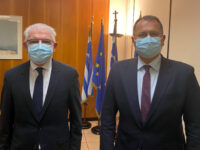 Επικοινωνία Γ. Στύλιου με τον Πρόεδρο του ΕΛΓΑκ.Α. Λυκουρέντζο, με αφορμή την πρόσφατη χαλαζόπτωση στην Άρτα.