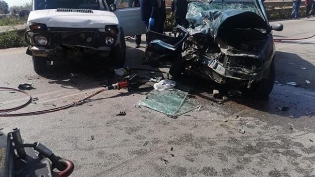 Σοβαρό τροχαίο στην Εύβοια – Πέντε τραυματίες, ανάμεσά τους και ένα μωρό