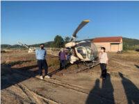 Αυτοψία της Αντιπεριφερειάρχη Π.Ε. Αιτωλοακαρνανίας, Μ. Σαλμά, στις εργασίες κουνουποκτονίας στο Αιτωλικό