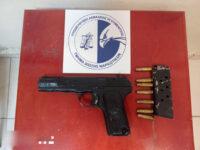 Συνελήφθη με 8 κιλά κάνναβη και πιστόλι TOKAREV