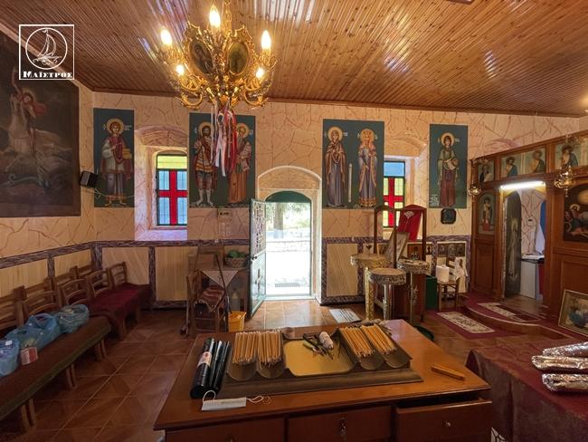 ΖΩΝΤΑΝΑ από το εξωκλήσι της Αγίας Τριάδας Αμφιλοχίας στο Κάστρο Λιμναίας