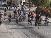 Το Πολιτιστικό Κέντρο Αμφιλοχίας γέμισε την Παραλία με ποδήλατα