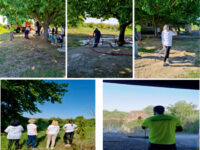 Εθελοντική δράση στον περιβάλλοντα χώρο του Ιερού Ναού Αγίας Τριάδας του Μαύρικα πραγματοποίησαν τα μέλη της Ακτίνας Εθελοντισμού.