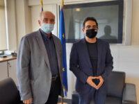 Συνάντηση Δημάρχου Κ. Λύρου με τον Γ.Γ. Κοινωνικής Αλληλεγγύης Γ. Σταμάτη με έμφαση στη μειονότητα των Ρομά