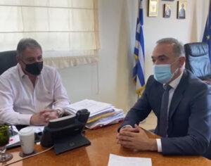 Συνάντηση Μάριου Σαλμά με διοικητή 6ης ΥΠΕ – Στην «κάδρο» το Γ. Νοσοκομείο Αγρινίου