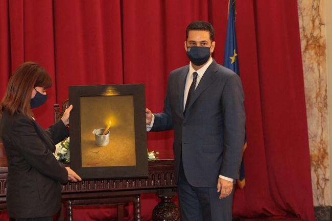 Επίτιμη δημότης Αγρινίου ανακηρύχθηκε η Πρόεδρος της Δημοκρατίας Κατερίνα Σακελλαροπούλου
