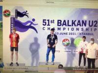 """ΑΓΡΙΝΙΟ ΜΠΟΡΕΙΣ"""": Συγχαρητήρια στο Νίκο Σταμούλη, έναν σπουδαίο αθλητή με προσήλωση στο στόχο του, αγωνιστικότητα κι ενθουσιασμό"""