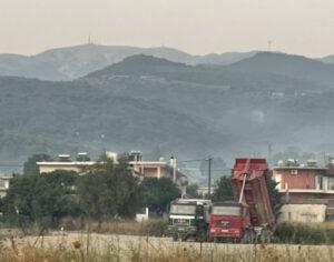 Υπό έλεγχο η φωτιά στο Δρυμό Βόνιτσας