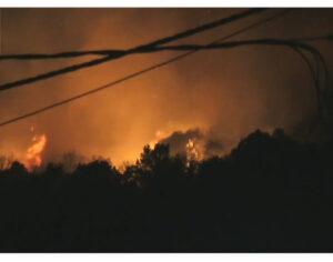 Μαίνεται η φωτιά στο Δρυμό Βόνιτσας – Κάηκαν πρόβατα και ελαιώνες