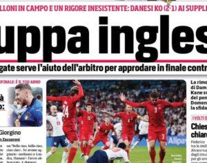 Ιταλικά ΜΜΕ: «Αγγλική σούπα, πάρτε της το στέμμα!»