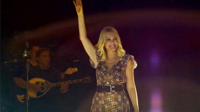 Συναυλία της Νατάσας Θεοδωρίδου στο νησάκι Κουκουμίτσα της Βόνιτσας