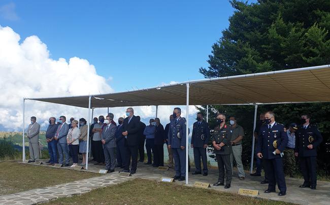 Ο Υφυπουργός Προστασίας του Πολίτη, κ. Ελευθέριος Οικονόμου, στην εκδήλωση «Μνήμης της Γυναίκας της Πίνδου, των Αξιωματικών Κ. Δαβάκη, Α. Διάκου