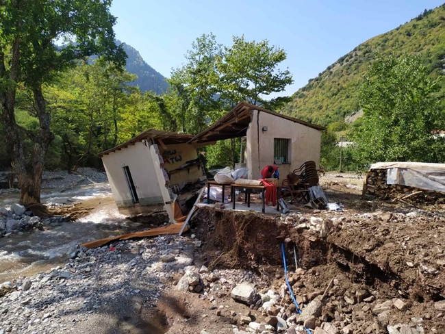Από το Δήμο Αργιθέας το πρώτο στην Ελλάδα έργο συλλογής, ανάκτησης και επαναχρησιμοποίησης φερτών υλών από φυσικές καταστροφές