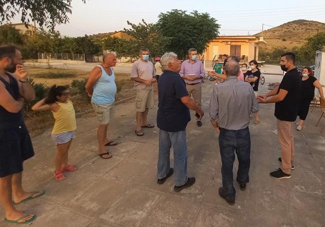 Με την Τοπική Κοινότητα Στρογγυλής συνεχίστηκε ο διάλογος της Δημοτικής Αρχής με την Τοπική Κοινωνία.