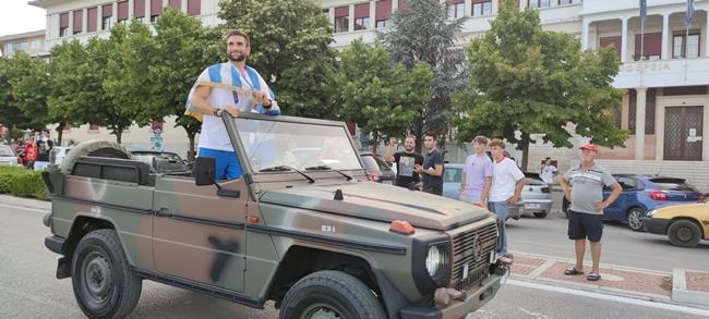 Γιάννενα: Θερμή υποδοχή στον χρυσό Ολυμπιονίκη Στέφανο Ντούσκο