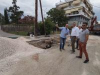 Ολοκληρώνεται το έργο «Κατασκευή τμημάτων του δικτύου όμβριων Δήμου Αρταίων»