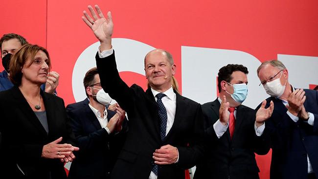Νίκη των Σοσιαλδημοκρατών στη Γερμανία