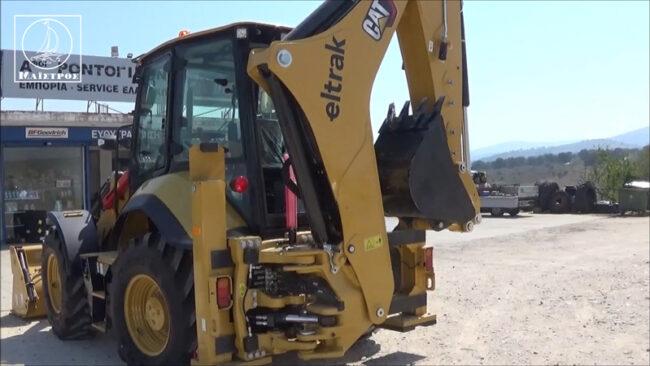 Καινούριο μηχάνημα έργων παρέλαβε ο Δήμος Αμφιλοχίας