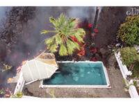 Hφαίστειο στη νήσο Λα Πάλμα – Δέος προκαλεί βίντεο με τη λάβα να γεμίζει πισίνα