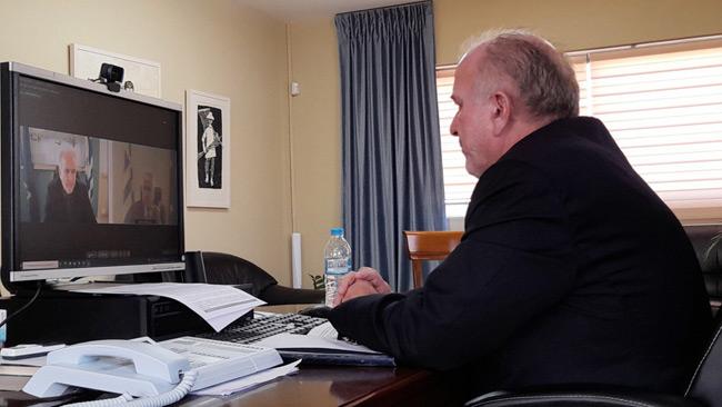 Συνεργασία Λύρου – Βορίδη για τις εντάξεις έργων στο πρόγραμμα «Τρίτσης»