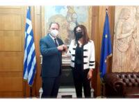 Η Γεωργία Μπόκα νέα αντιπρόεδρος του Ελληνικού Γεωργικού Οργανισμού «ΔΗΜΗΤΡΑ»