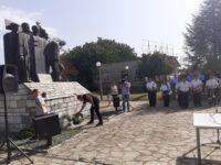 Πραγματοποιήθηκε, στην πλατεία Κυψέλης, το επίσημο μνημόσυνο για τον αγωνιστή της αγροτιάς Μήτσο Βλάχο