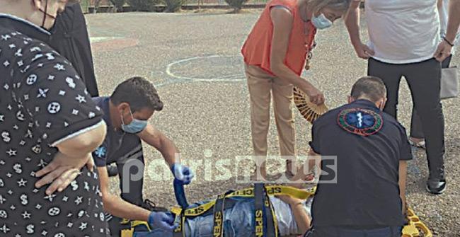 Πύργος: Μαθητής λιποθύμησε και χτύπησε στο κεφάλι – Στο νοσοκομείο και ο αδερφός του