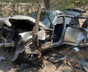 Σφοδρό τροχαίο ατύχημα στα Σαρδίνια Αμφιλοχίας