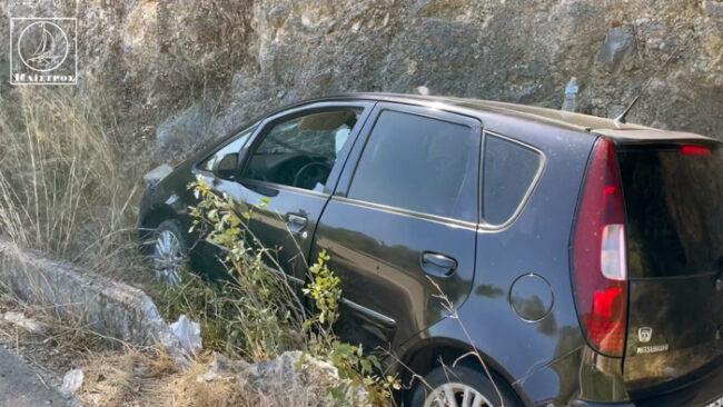 Τροχαίο ατύχημα με τραυματισμό στην Κατούνα