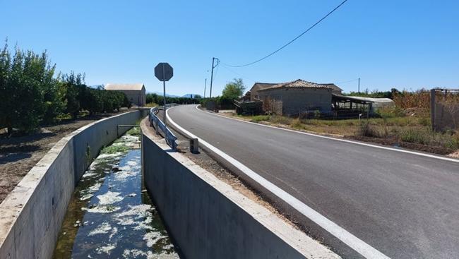Ολοκληρώθηκε η αντιπλημμυρική προστασία και η ασφαλτόστρωση αγροτικής οδοποιίας στην Τ.Κ Αγ. Παρασκευής
