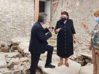 Με εγκαίνια και ειδήσεις η επίσκεψη της Υπουργού Πολιτισμού, κας Λίνας Μενδώνη, στην Άρτα