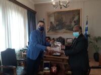 Συνάντηση Ινδού Πρέσβη με τον Δήμαρχο Αγρινίου