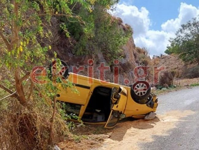 Κρήτη: Συγκλονιστικό βίντεο από τη βουτιά θανάτου 56χρονου οδηγού