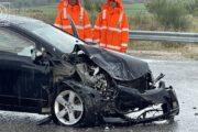 Σφοδρή σύγκρουση ΙΧ αυτοκινήτων στην Αμφιλοχία με τραυματισμούς